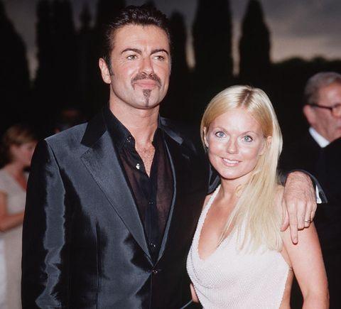 Geri Halliwell and George Michael