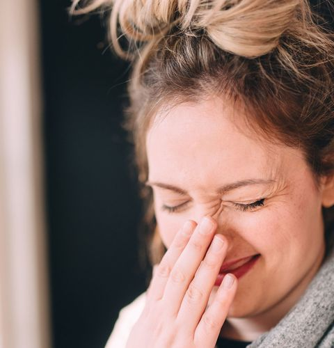 If your nose feels cold, it could mean you're working too hard