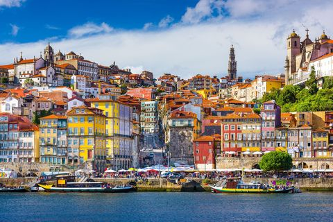 """<p>In 2017, Lisbon became the place to travel to for discerning hipsters, and yet Portugal's second city, Porto, is just as an attractive proposition – just less hectic. Similarly to Lisbon, this port-side destination offers a laid-back, bohemian nightlife, cobbled streets, affordable, delicious restaurants and airy modern art museum. Try <a href=""""https://www.cafecandelabro.com/"""" data-href=""""https://www.cafecandelabro.com/"""" target=""""_blank"""">the Candelabro</a>, a bookshop specialising in cinema and photography, with a bar in which to read your wares afterwards - possibly with a glass of port in hand.</p>"""