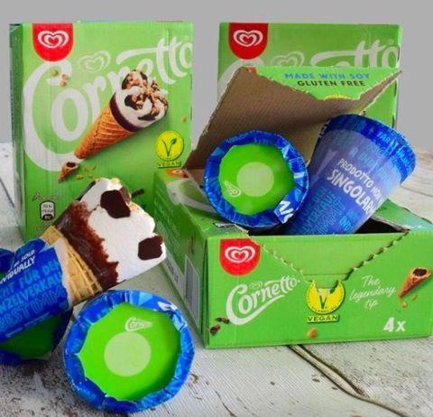 Cornetto to launch vegan ice cream cones in the UK