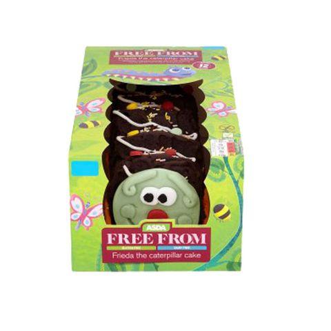 Phenomenal Asda Launches Dairy Free Gluten Free Frieda The Caterpillar Cake Personalised Birthday Cards Vishlily Jamesorg