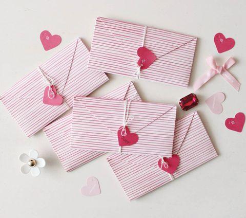 how to make a secret note envelope