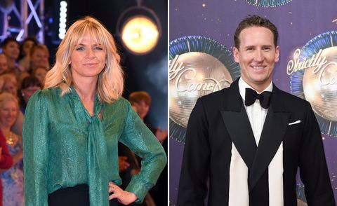 Zoe Ball, Brendan Cole, Strictly Come Dancing