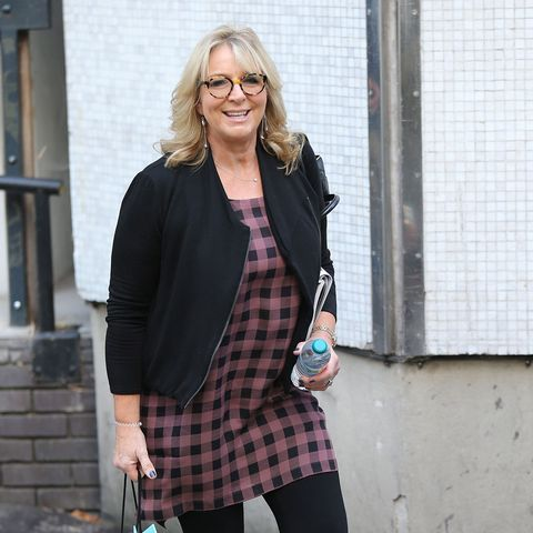 Fern Britton is on top form for trip to Cornwall