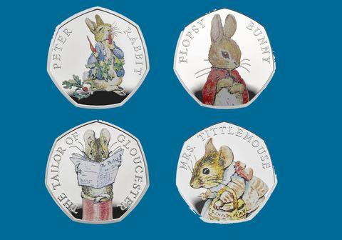 Beatrix Potter coins 2018