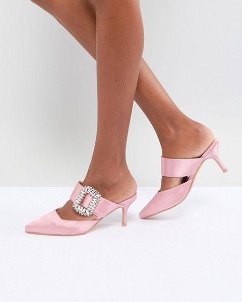 82061886e ASOS heels. BUY NOW: Roger Vivier Crystal-embellished Satin Mules,  NET-A-PORTER (£1.200)