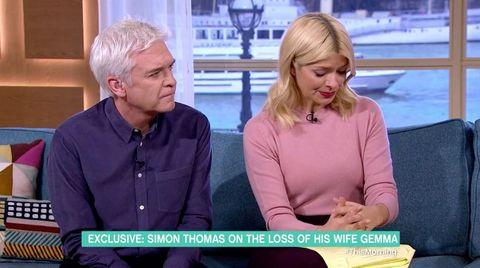 Holly and Phil This Morning Simon Thomas