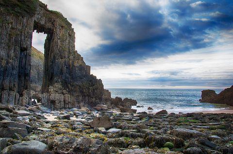 Skrinkle Haven Pembrokeshire Wales