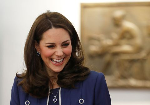 The Duchess Of Cambridge Visits The Royal College Of Obstetricians And Gynaecologists LONDON, ENGLAND - FEBRUARY 27: Catherine, the Duchess of Cambridge, visits St Thomas' Hospital on February 27, 2018 in London, England. (Photo by Peter Nicholls-WPA Pool/Getty Images)