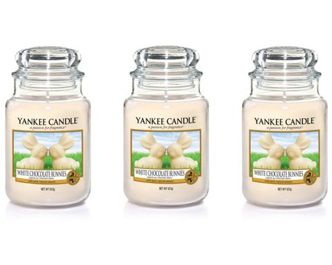 Yankee Candle White Chocolate Bunnies candle