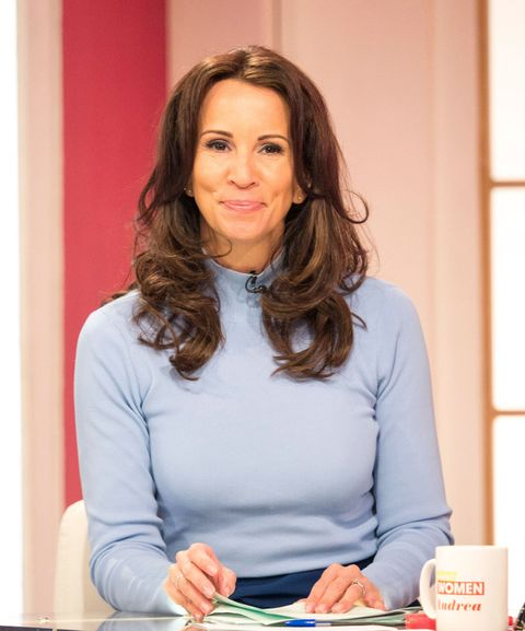 loose women 39 s andrea mclean opens up about 39 awful. Black Bedroom Furniture Sets. Home Design Ideas