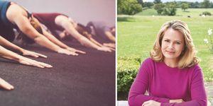 Liz Earle menopause interview