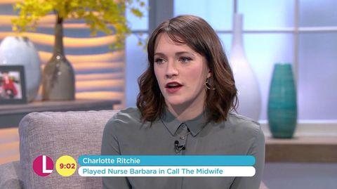 Charlotte Ritchie on Lorraine