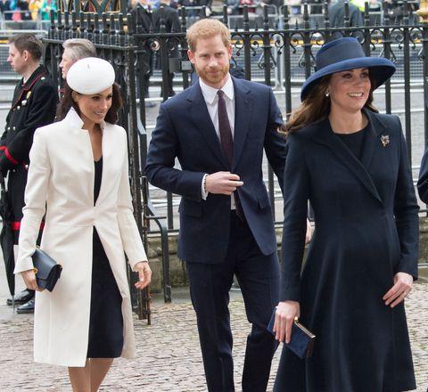 Meghan Markle and Duchess of Cambridge