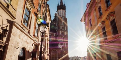 Krakow the cheapest city to visit in Europe