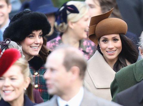Duchess of Cambridge and Meghan Markle