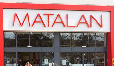 Matalan shop sign