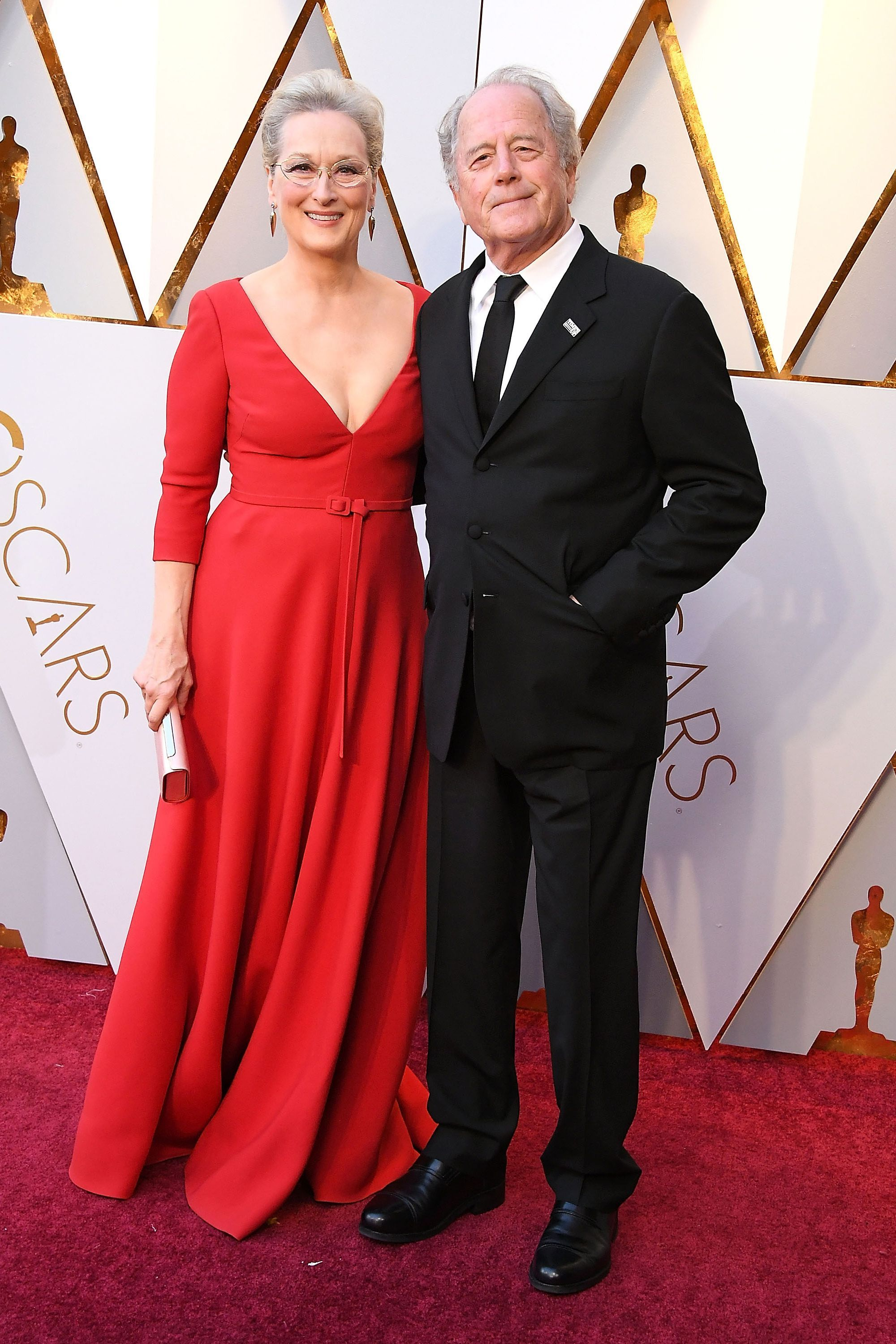 """<p>The iconic actress has enjoyed an amazing career, all while <u data-redactor-tag=""""u"""" data-tracking-id=""""recirc-text-link"""">having ahappy family with her husband</u> of 40 years, Don Gummer. The couple stays relatively private about their personal life, but <a href=""""https://www.yours.co.uk/features/celebrity/articles/meryl-streep-at-65-the-love-that-changed-her-life"""" target=""""_blank""""><u data-redactor-tag=""""u"""" data-tracking-id=""""recirc-text-link"""">Streep has said</u></a> that the secret to a strong marriage is 'goodwill and a willingness to bend – and to shut up every once in a while'. Words to live by.</p>"""