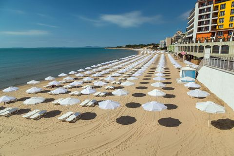 "<p>The eastern European country ranked the cheapest for all-inclusive destinations, specifically in the Sunny Beach region on the east coast of the country. To stay in a four-star hotel in the first week of May <a href=""https://www.travelsupermarket.com/en-gb/holidays/results/5310a3fa823ab0522c0a32d4/528cbf44e4b0ec1df50b7c72/2018-05-01/7/?room=A2"" target=""_blank"">can start from £229pp</a>, including flights!</p>"
