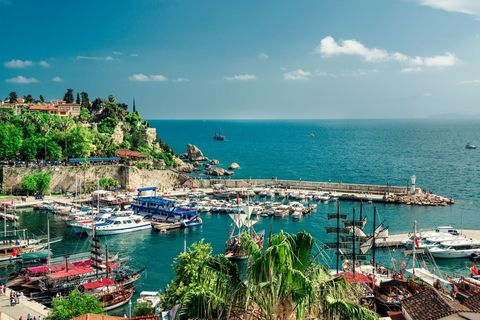 "<p>Searches for a week's break in Turkey are up by a whopping 79%, which makes it the sixth most popular country for Brits to visit this year. Antalya (pictured) and Alanya have some of the best deals, with a week in a three-star hotel in Alanya in May <a href=""https://www.travelsupermarket.com/en-gb/holidays/results/5497d3cbaa00dc24a55efddc/528cc200e4b0ec1df538ae67/2018-04-30/7/?room=A2"" target=""_blank"">starting at £195pp.</a> Other resorts like Bodrum, Marmaris and Oludeniz are all featured in the top 20 cheapest all-inclusive <strong data-redactor-tag=""strong"">resorts </strong>for this year.</p>"