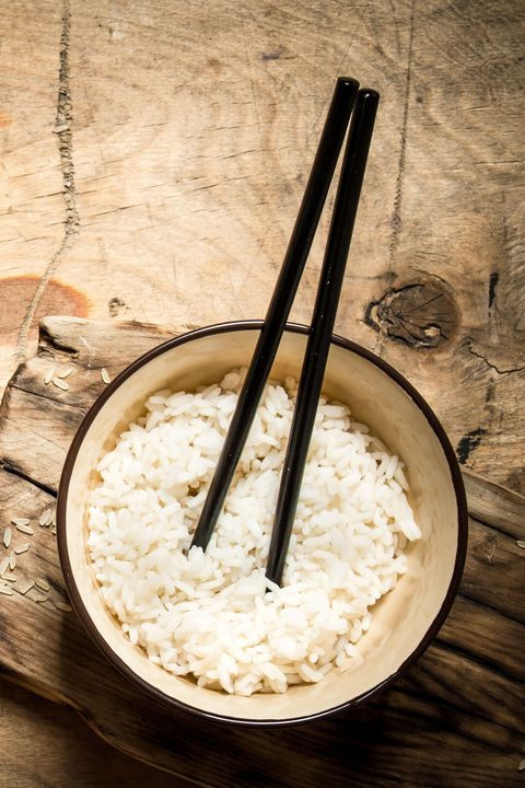 <p>Poking chopsticks down into your food is a big no-no in Japan. The utensils look like the unlucky number four, which means death, and also the incense sticks used at funerals. Another tip: Don't point your chopsticks at anyone. That's just plain rude. </p>