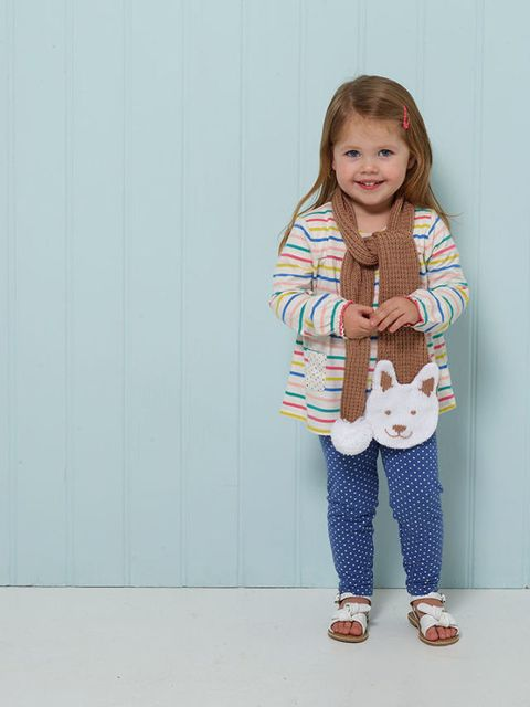 Kids Scarf Knitting Pattern How To Knit A Cute Animal Scarf