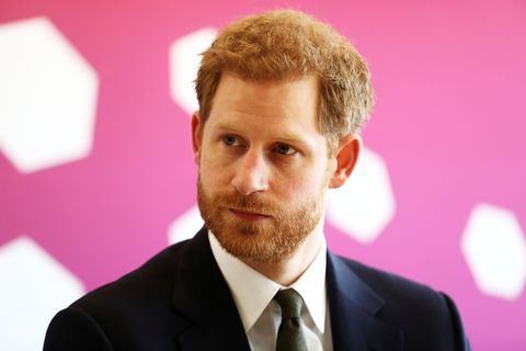 Prince Harry attends a Commonwealth Heads of Government Meeting (CHOGM) Youth Forum on April 16, 2018 in London, England. The UK this week hosts heads of state and government from the Commonwealth nations.