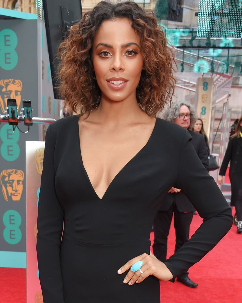 a17c9b73b18f Rochelle Humes Wore The Perfect High-Street Dress For Chic Work Style