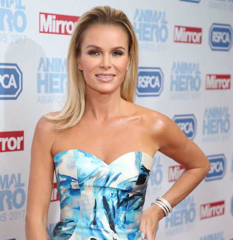 amanda holden sizzles in the statement ms shirt of the season
