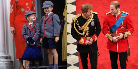 Prince Harry and Prince William's best brotherly moments through the years