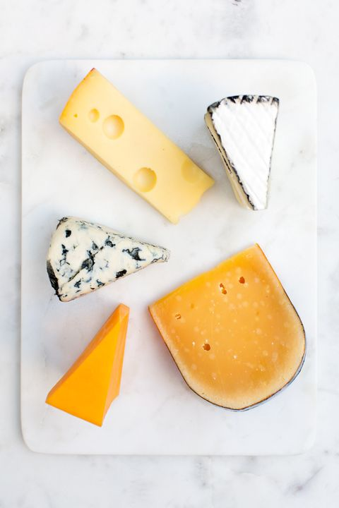 Cheese provides calcium for strong teeth and bones
