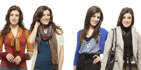 women wearing fashions that transition from summer to fall