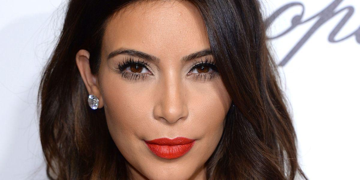 We Bet Youll Recognize Kim Kardashians New Haircut