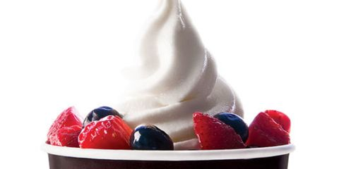 Nonfat frozen yogurt