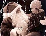 santa signs to deaf girl