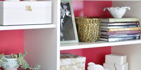 Re-merch your shelves
