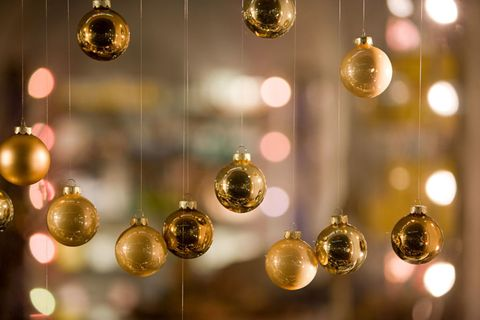 Yellow, Christmas decoration, Amber, Interior design, Christmas ornament, Christmas, Ornament, Natural material, Gold, Metal,