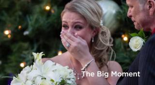 bride surprise