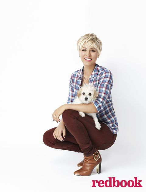 Redbook's February cover star Kaley Cuoco-Sweeting