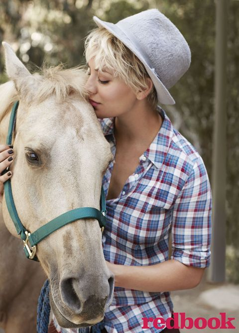 Redbook cover star Kaley Cuoco-Sweeting interview