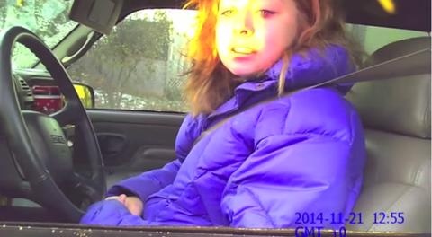 Motor vehicle, Vehicle door, Automotive mirror, Car seat, Purple, Glass, Jacket, Sitting, Electric blue, Comfort,