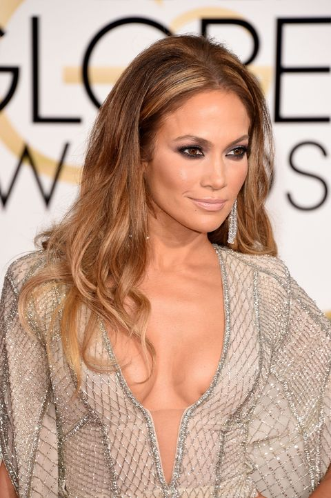 best hair golden globes jennifer lopez