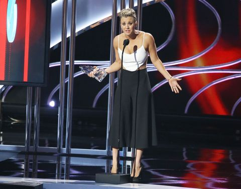 Kaley Cuoco-Sweeting at the People's Choice Awards