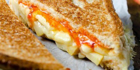 sriracha grilled cheese