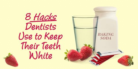 dentist hacks white teeth