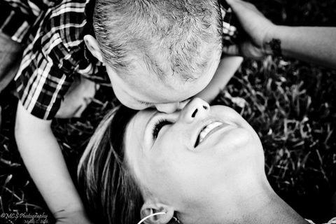 Ear, Cheek, Plaid, Tartan, Interaction, Love, Romance, Gesture, Throat, Baby,