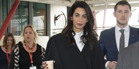 Amal Clooney Can't Be Bothered With Your Fashion Questions