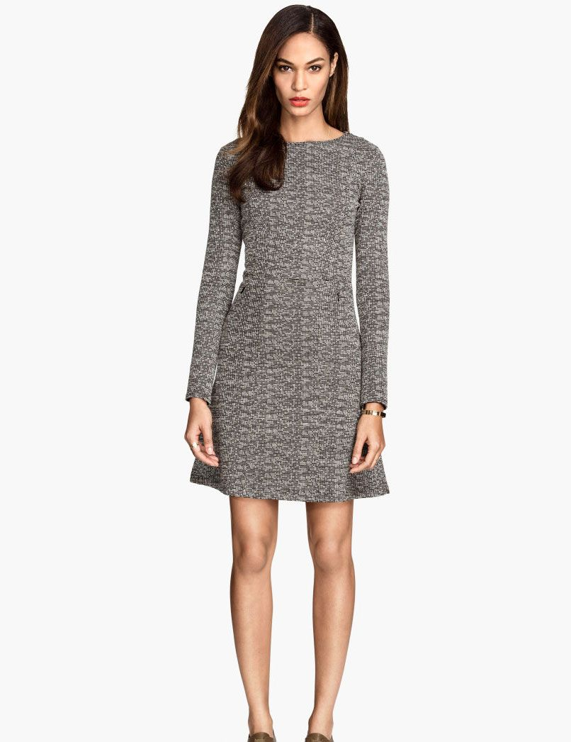 12 Long-Sleeved Dresses to Fight the Winter Chill