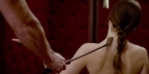 Fifty Shades of Grey sex scene