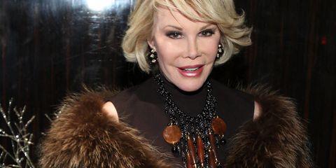 Joan Rivers To Collect Posthumous Award